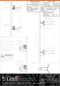 3m 76mm One-Way bracket