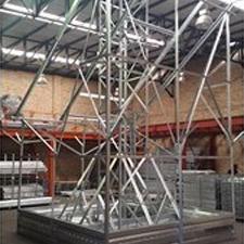 Tower solar frame test