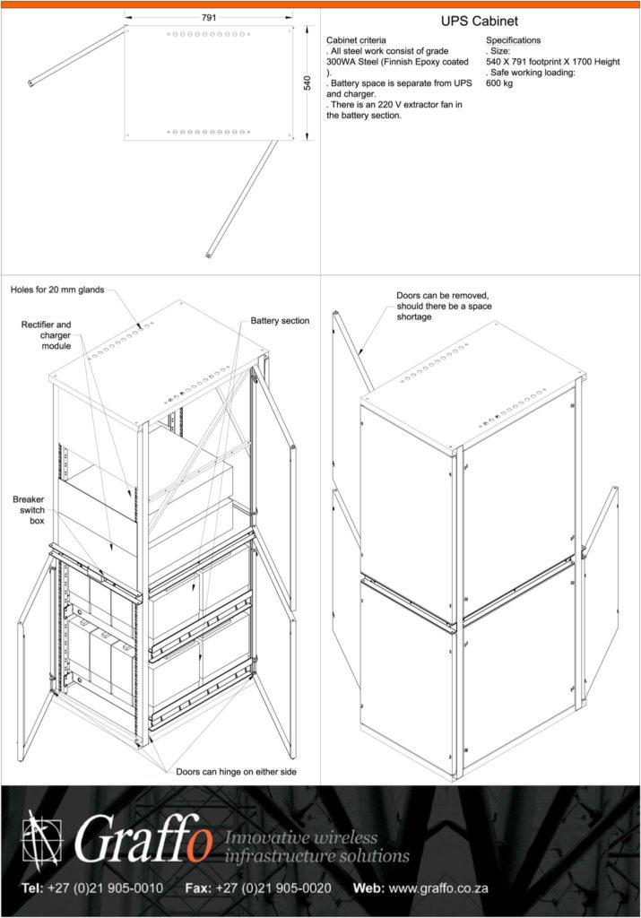 UPS Cabinet